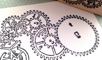 Steampunk Rubber Stamps and Papercrafts