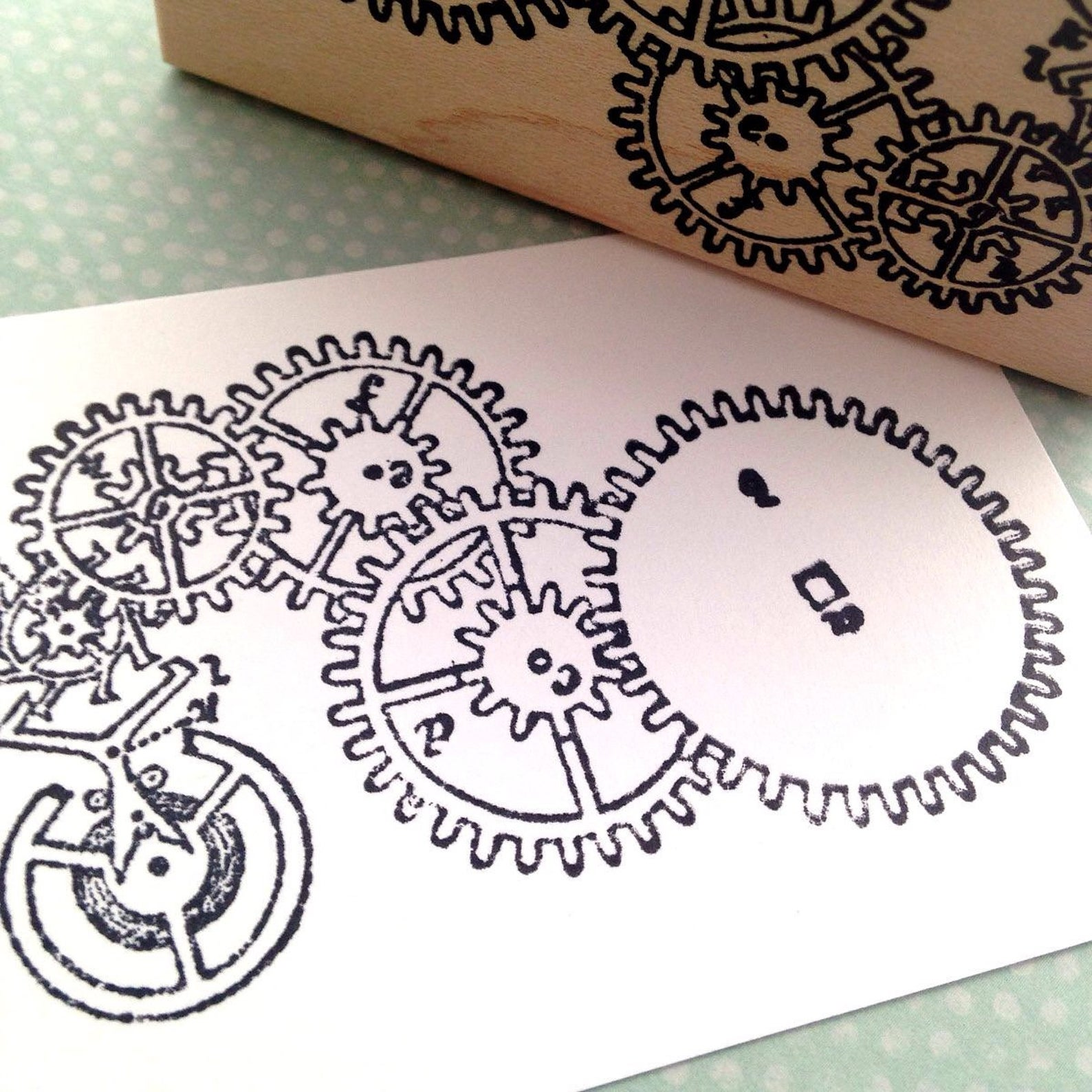 Steampunk Rubber Stamps and Papercraft Supplies
