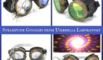 Steampunk Goggles from Umbrella Laboratory