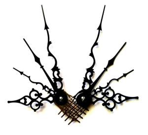 Steampunk Hair Comb Titania Noir