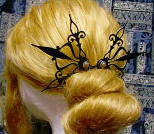 Steampunk Hair Pick Belle