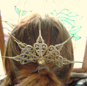 Steampunk Hair Pick Marchioness