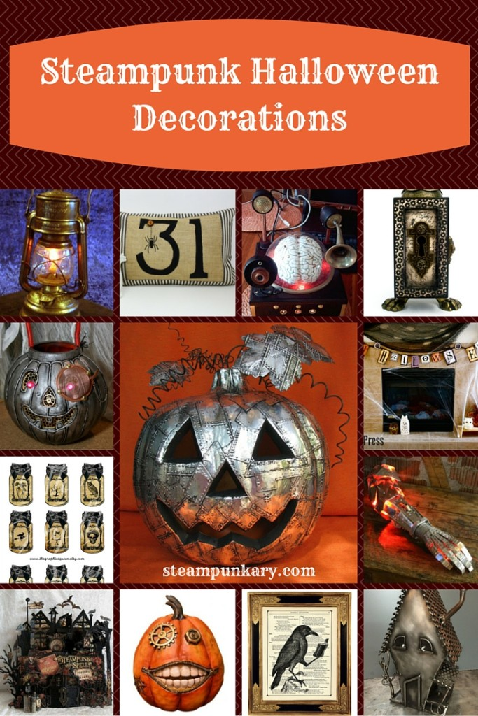 Steampunk Halloween Decorations