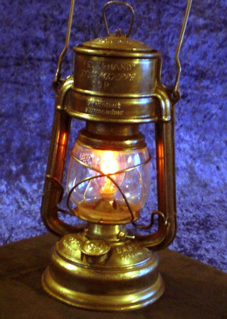 DIY Steampunked Halloween Lantern