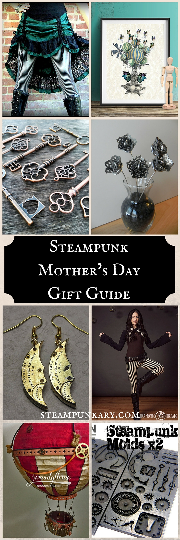 Steampunk Mother's Day Gift Guide