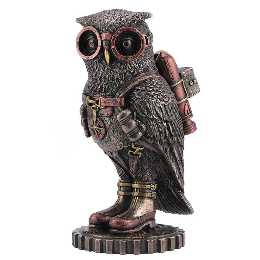 Steampunk Owl Statue Giveaway