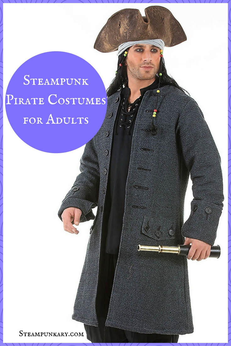 Steampunk Pirate Costumes for Adults