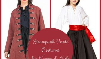 Steampunk Pirate Costumes for Women & Girls