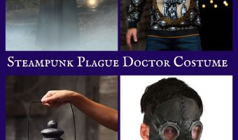 Steampunk Plague Doctor Costume for Halloween