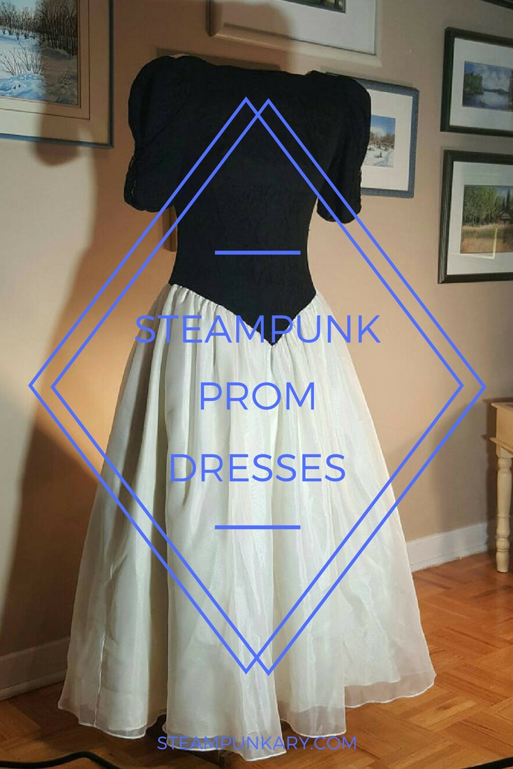 Steampunk Prom Dresses for High School or College