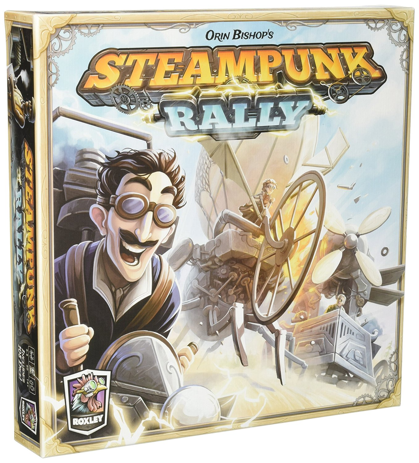 Steampunk Games & Game Accessories for Him, Her or Them