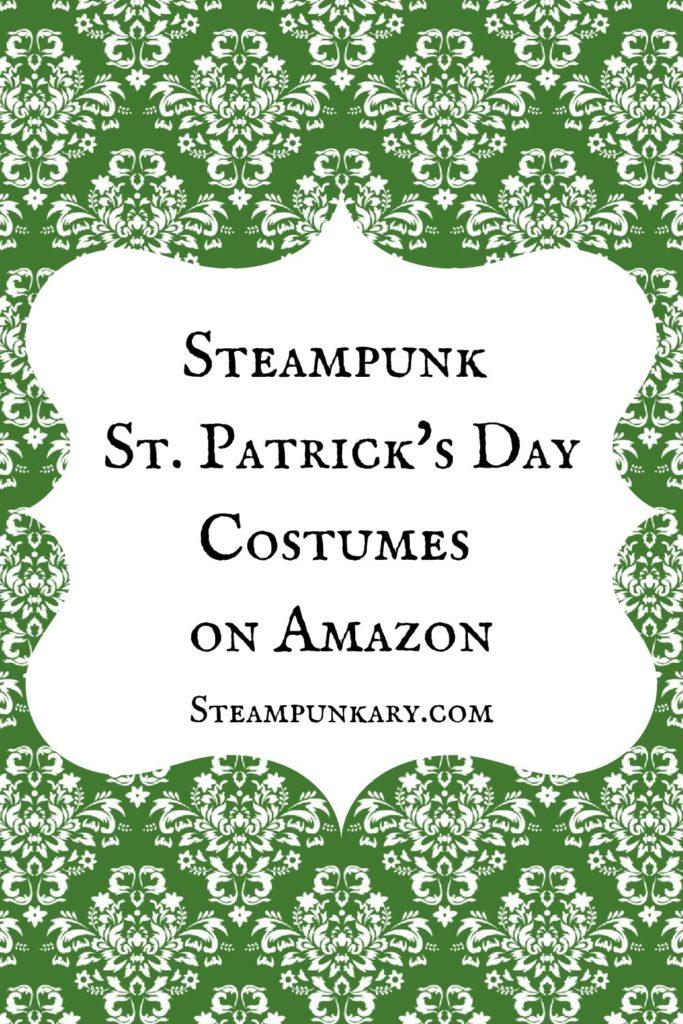 Steampunk Saint Patricks Day Costumes on Amazon