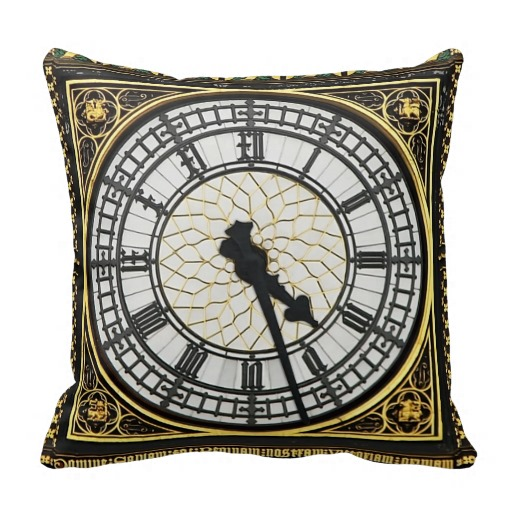 Steampunk Throw Pillows