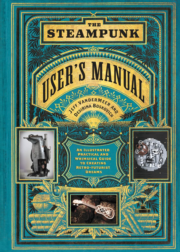 Cool Steampunk Books for Holiday Gifts
