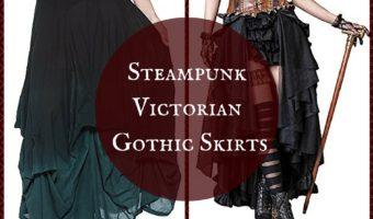 Retro Steampunk Victorian Gothic Skirts