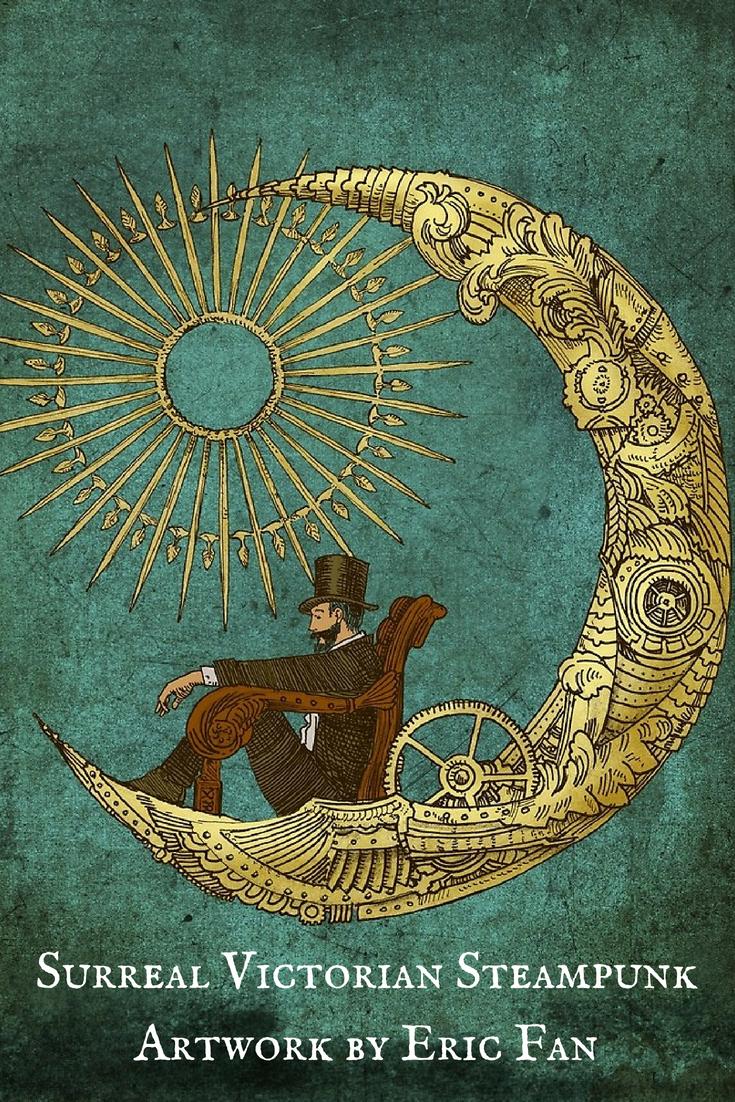 Surreal Victorian Steampunk Artwork by Eric Fan