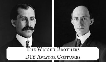 The Wright Brothers DIY Aviator Costumes