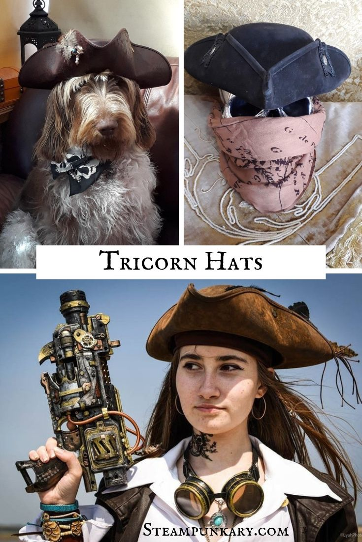 Tricorns and Pirate Wear by Immortal Beloved UK