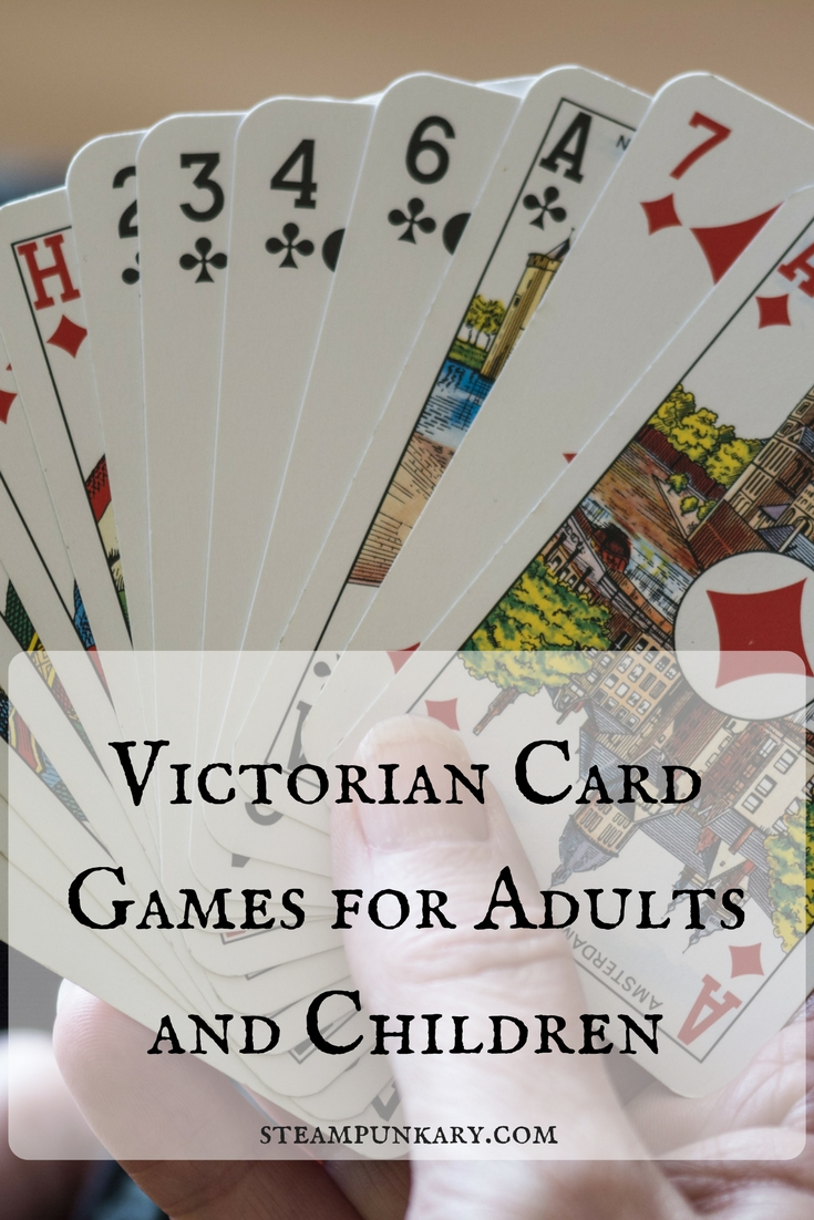 Victorian Card Games for Adults and Children