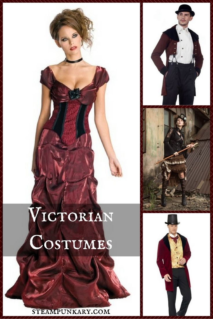 Victorian Costumes for Halloween or Cosplay