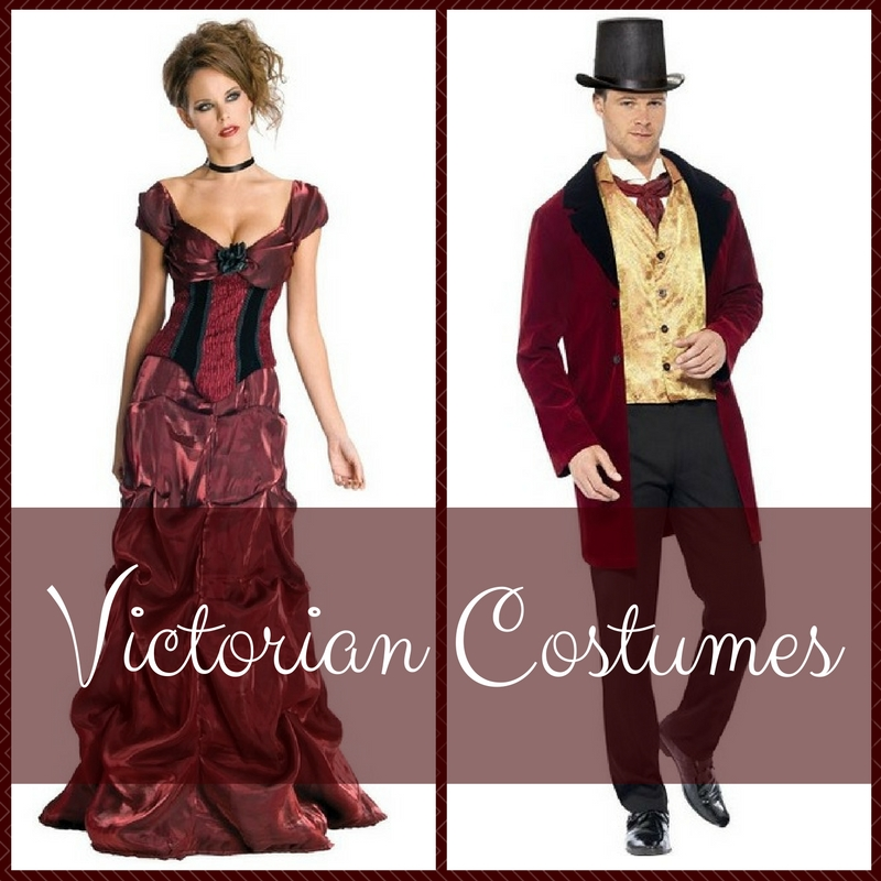 Victorian Costumes for Women, Men, and Teens