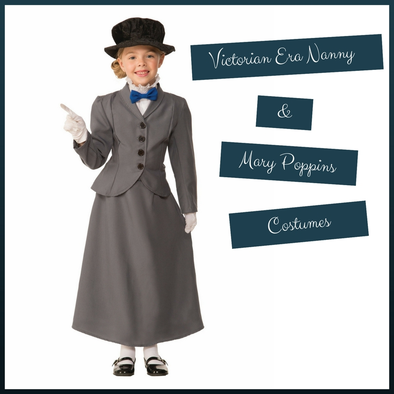 Victorian Era Nanny and Mary Poppins Costumes