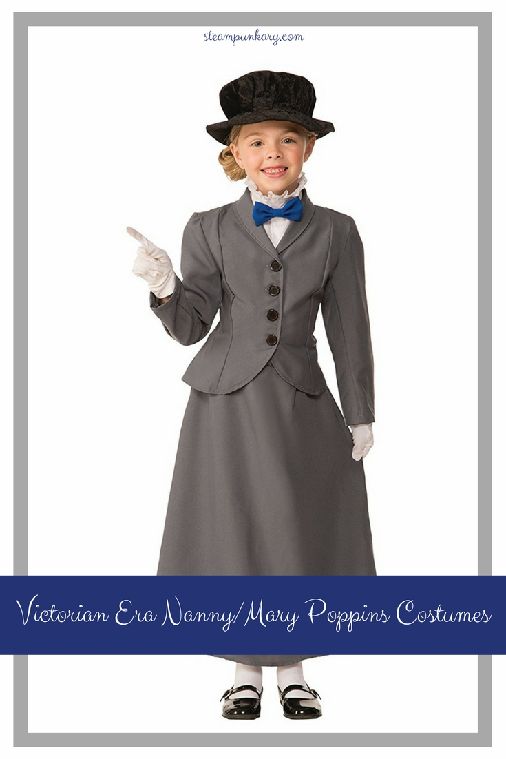 Victorian Era Nanny and Mary Poppins Costumes