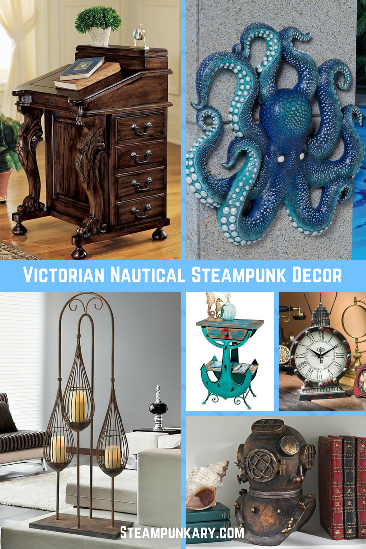 Victorian Nautical Steampunk Decor