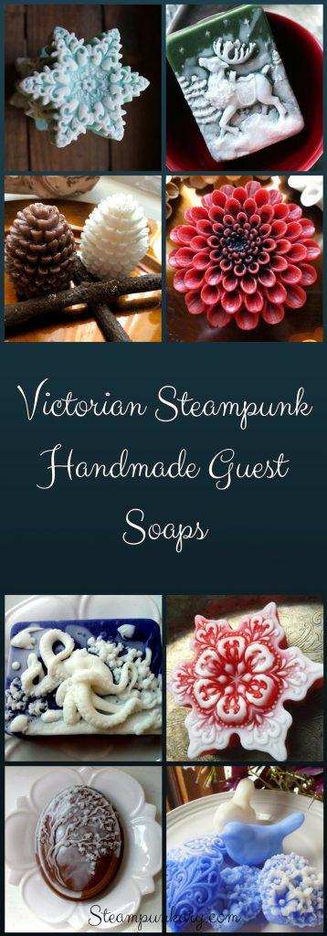 Victorian Steampunk Handmade Guest Soaps Steampunkary