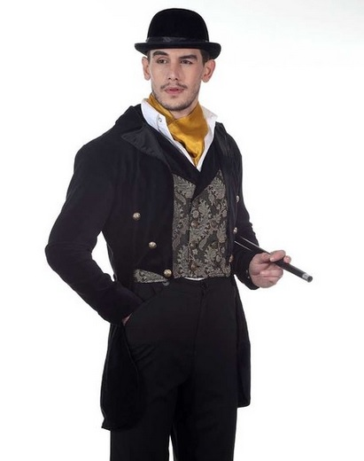Steampunk Victorian Gentleman's Tailcoat Costume