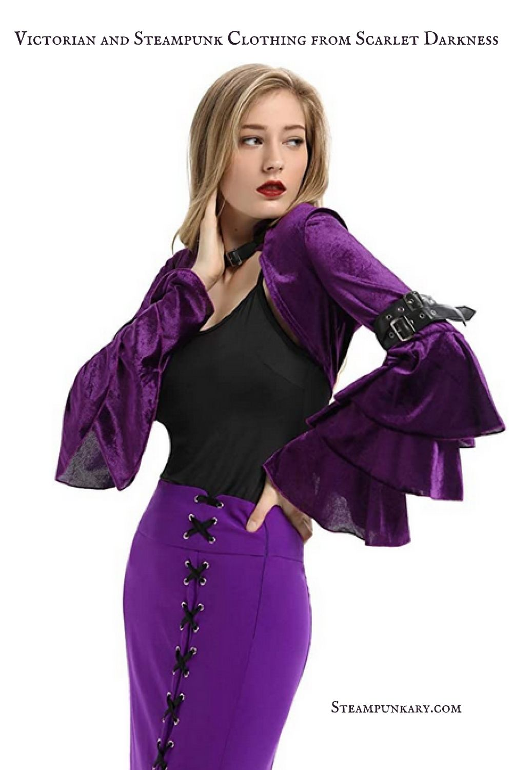 Victorian and Steampunk Clothing from Scarlet Darkness