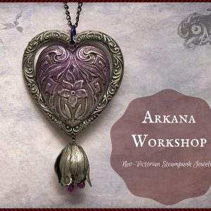 Arkana Workshop Neo-Victorian Steampunk Jewelry