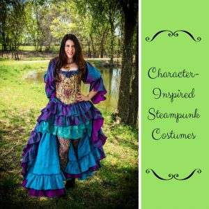 Custom-Made Character-Inspired Steampunk Costumes