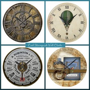 Cool Steampunk Clocks for Home Decor