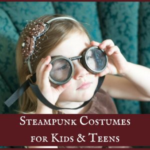 Steampunk Child and Teen Costumes