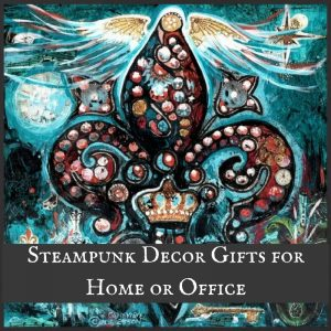 Steampunk Decor Gifts for Home or Office