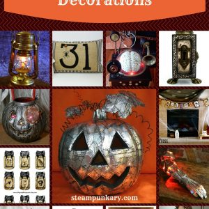 13 Spooktastic Steampunk Halloween Decorations