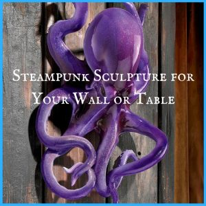 Steampunk Sculpture for Your Wall or Table