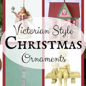 Victorian Style Christmas Ornaments