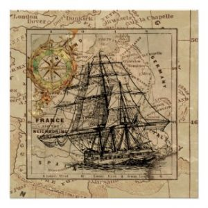 Vintage Maps for Home or Office Decor and Gifts