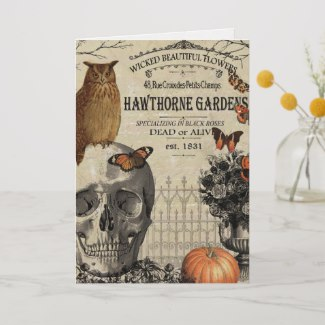 Personalize This Vintage Halloween Greeting Cards Collection