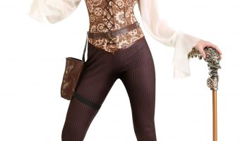 Steampunk Costumes and Accessories from HalloweenCostumes.com
