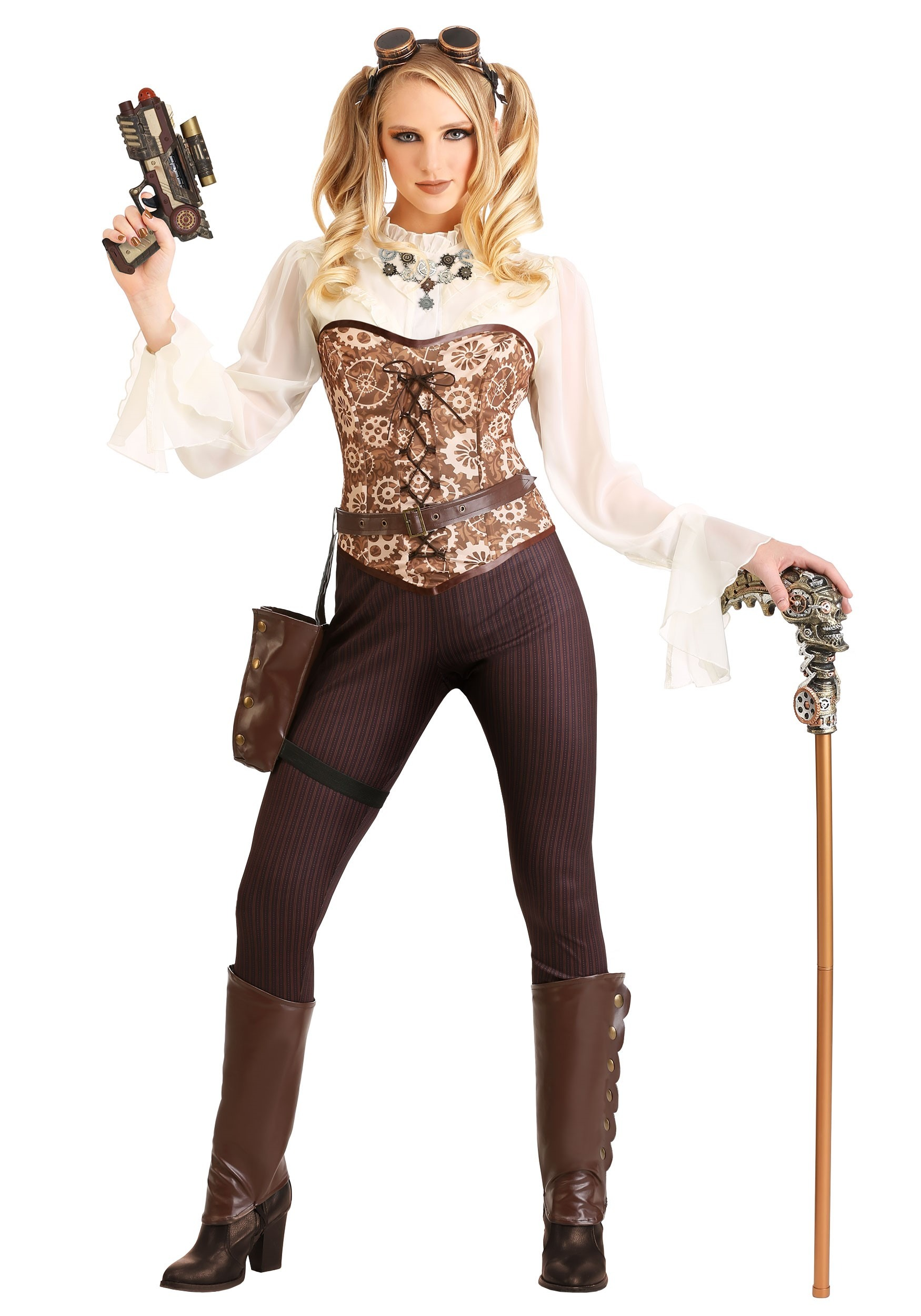 Steampunk Costumes & Accessories on HalloweenCostumes.com