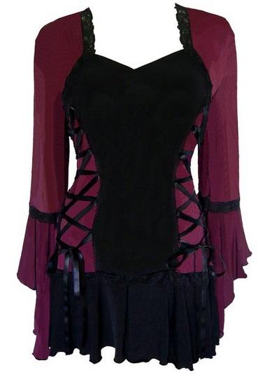 Victorian Gothic Women's Corset Top